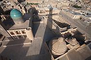 Miri Arab mosque , merdessa -coranic school -  Boukhara  Ouzbekistan  .///.Miri Arab  mosquee madrassah - ecole coranique   Boukara  Ouzbekistan .///.OUZB56244
