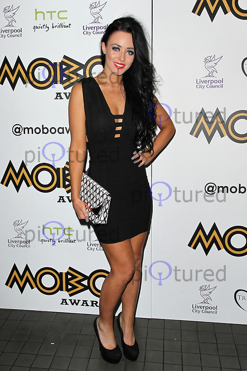 LONDON - SEPTEMBER 17: Hatty Keene attended the Nominations Launch of the MOBO Awards at Floridita London, UK. September 17, 2012. (Photo by Richard Goldschmidt)