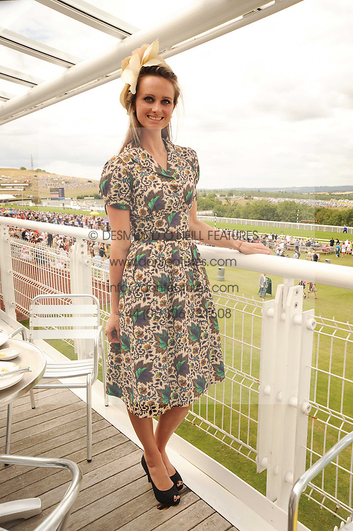 BRYONY DANIELS at the third day of the 2010 Glorious Goodwood racing festival at Goodwood Racecourse, Chichester, West Sussex on 29th July 2010.