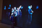 """55th Art Biennale in Venice - The Encyclopedic Palace (Il Palazzo Enciclopedico).<br /> Arsenale.<br /> Holy See (Vatican) exposition.<br /> Studio Azzuro (Italy), """"In Principio"""", 2013."""
