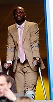 Photo: Daniel Hambury.<br />Reading v Watford. Coca Cola Championship. 11/03/2006.<br />Reading's Injured striker Leroy Lita.