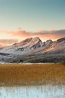 Loch Cill Chriosd and Black Cuillins, Isle of Skye, Scotland.