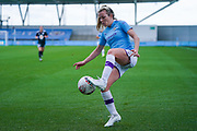 Manchester City Women forward Lauren Hemp (15) during the FA Women's Super League match between Manchester City Women and BIrmingham City Women at the Sport City Academy Stadium, Manchester, United Kingdom on 12 October 2019.