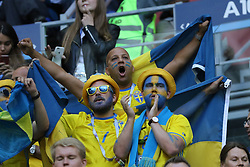 July 3, 2018 - Russia - July 03, 2018, St. Petersburg, FIFA World Cup 2018 Football, the playoff round. Football match of Sweden - Switzerland at the stadium of St. Petersburg. Player of the national team. (Credit Image: © Russian Look via ZUMA Wire)