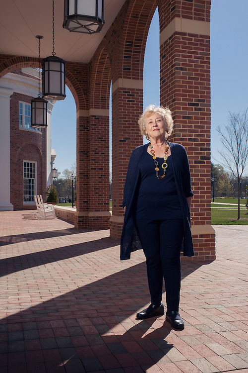 Alice Brown has been a long-time supporter of small colleges, but is not shy about offering a tough-love message on whether they can survive. <br /> <br /> Photo by D.L. Anderson for The Chronicle of Higher Education