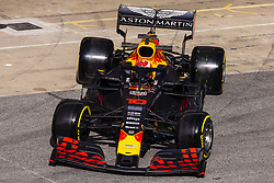 February 21, 2019 - Barcelona, Barcelona, Spain - Pierre Gasly from France with 10 Aston Martin Red Bull Racing - Honda RB15 in action during the Formula 1 2019 Pre-Season Tests at Circuit de Barcelona - Catalunya in Montmelo, Spain on February 21. (Credit Image: © Xavier Bonilla/NurPhoto via ZUMA Press)