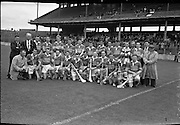 All-Ireland Junior Hurling Final at Croke Park, Kerry v Kildare. Kerry Team..09.09.1962