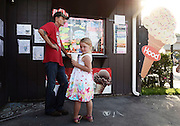 Jamie's Place Ice Cream Shop in Susquehanna, PA, Thursday, July 21, 2016. <br /> CREDIT: Heather Ainsworth for The Wall Street Journal