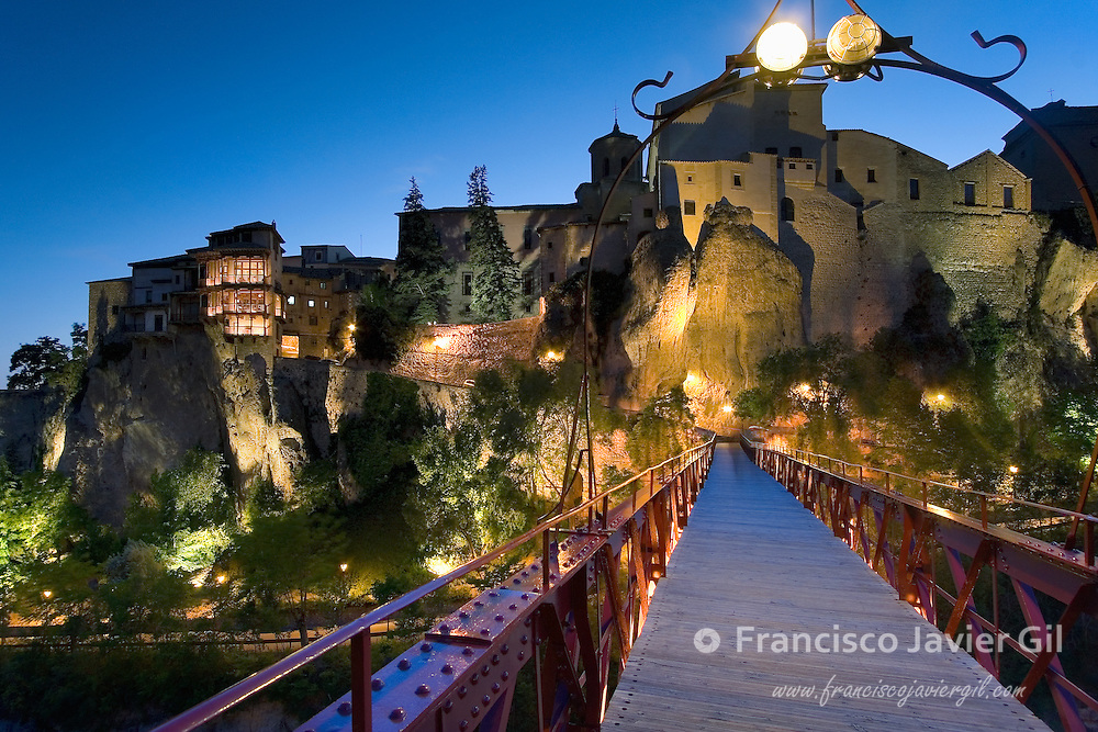 Hang houses in Cuenca, Spain