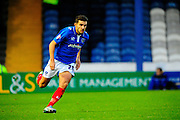 Portsmouth's Gareth Evans during the The FA Cup match between Portsmouth and Accrington Stanley at Fratton Park, Portsmouth, England on 5 December 2015. Photo by Graham Hunt.