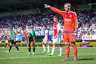 NIJMEGEN, NEC - Ajax, voetbal, Eredivsie seizoen 2015-2016, 23-08-2015, Stadion De Goffert, Ajax keeper Jasper Cillessen (R) is terug in de Goffert.