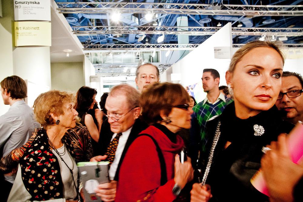 Crowd at Art Basel Miami Beach 2008