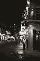 Bourbon Street in French Quarter of New Orleans, LA.  Copyright 2011 Reid McNally