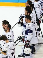 Deceptions Antoine Roussel - 07.05.2015 - Republique Tcheque / France - Championnat du Monde de Hockey sur Glace <br />Photo : Xavier Laine / Icon Sport