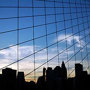 Grid cityscape, Lower Manhattan