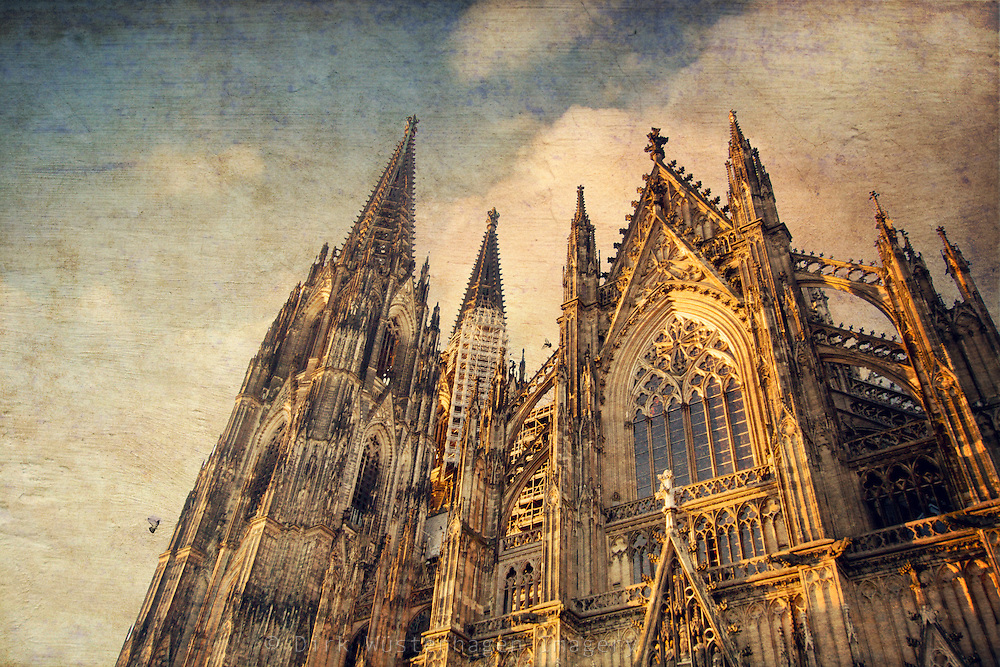 Low angle view of the famous religious building.<br />