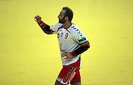 GEPA-24011079117 - INNSBRUCK,AUSTRIA,24.JAN.10 - SPORT DIVERS, HANDBALL - EHF Europameisterschaft, EURO 2010, Laenderspiel, Polen vs Spanien. Bild zeigt den Jubel von Artur Siodmiak (POL). Foto: GEPA pictures/ Amir Beganovic.FOT. GEPA / WROFOTO.*** POLAND ONLY !!! ***