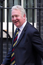 © Licensed to London News Pictures. 07/10/2013. London, UK. The new Minister of State for Work and Pensions, Mike Penning, is seen on Downing Street in London today (07/10/2013) during a ministerial reshuffle. Photo credit: Matt Cetti-Roberts/LNP
