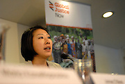 'Take Back Our World' Conference.<br /> Launch of the 'Global Justice Now' group, formally the 'World Development Movement'.<br /> 'Make it public: turning the tide on privatisation' session.<br /> Satoko Kishimoto coordinator of the 'Water Justice' project at the Transnational Institute.