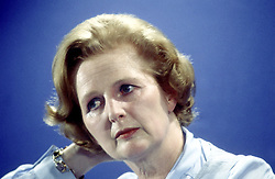 Jan 01, 1980 - London, England, United Kingdom - Margaret Thatcher, British politician, Prime Minister of Groflbritannien, undated portrait c. 1980s. (Credit Image: © Keystone/KEYSTONE Pressedienst/ZUMAPRESS.com)