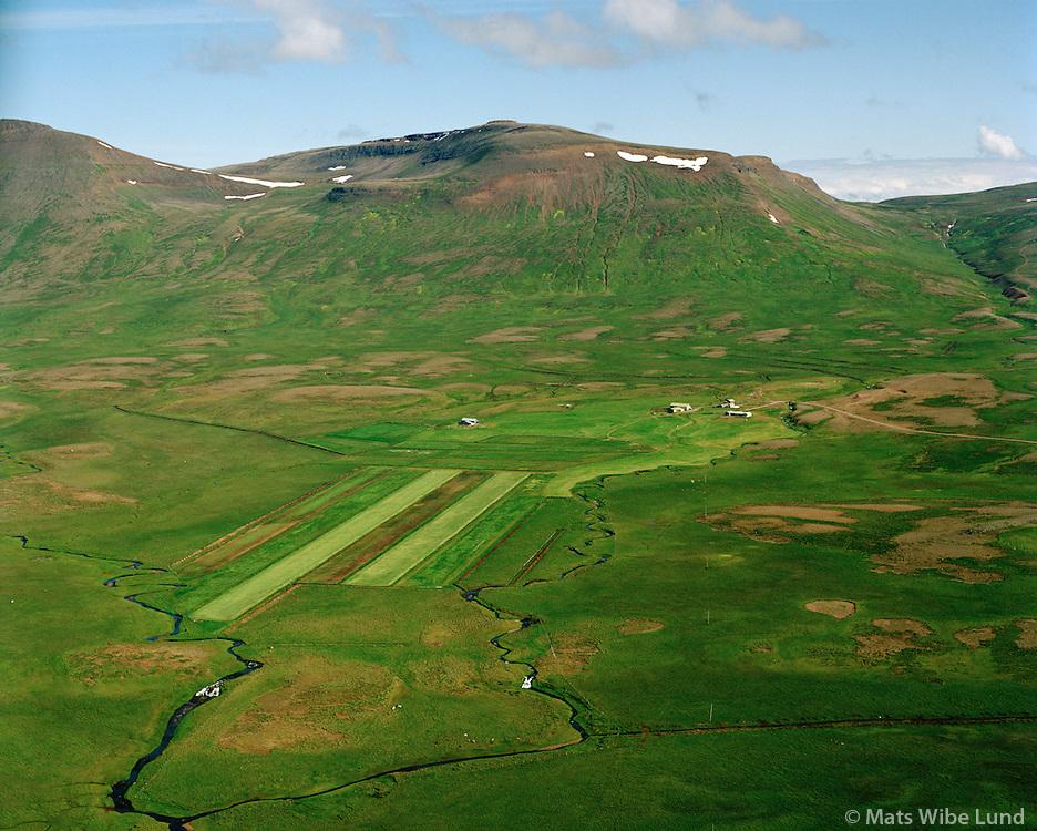 Steinnýjarstaðir séð til austurs, Skagahreppur / Steinnyjarstadir viewing east, Skagahreppur