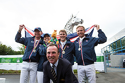 Team GBR - Grand Prix Team Competition Dressage - Alltech FEI World Equestrian Games™ 2014 - Normandy, France.<br /> © Hippo Foto Team - Leanjo de Koster<br /> 25/06/14