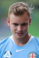 MELBOURNE, VIC - JANUARY 22: Melbourne City midfielder Nathaniel Atkinson (13) looks on at the Hyundai A-League Round 15 soccer match between Melbourne City FC and Western Sydney Wanderers at AAMI Park in VIC, Australia 22 January 2019. Image by (Speed Media/Icon Sportswire)