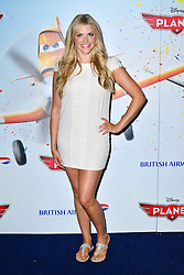 Planes 3D Film Screening.<br /> Anna Williamson during the screening of animated spin off of Cars. Odeon Leicester Square<br /> London, United Kingdom<br /> Sunday, 14th July 2013<br /> Picture by Nils Jorgensen / i-Images