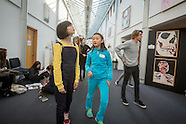 Chinese students at Hautlieu