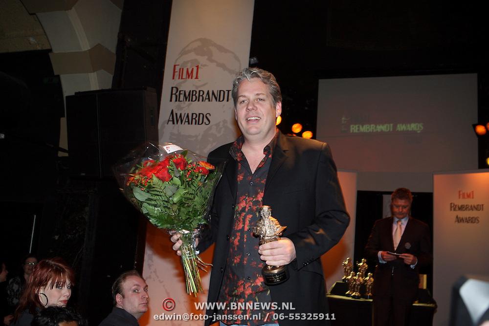 NLD/Amsterdam/20080310 - uitreiking Film1 Rembrand Awards 2008, Thomas Acda