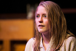"""""""House of Blue Leaves"""" directed by PLU Senior Jessi Marlow and performed by other Theatre majors on December 7, 2015. (Photo/ Angelo Mejia '17)"""