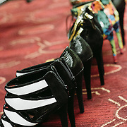 PROVIDENCE, RI - FEB 16: Details from backstage at the K-Bobby International show during StyleWeek NorthEast on February 16, 2015 in Providence, Rhode Island. (Photo by Cat Laine)