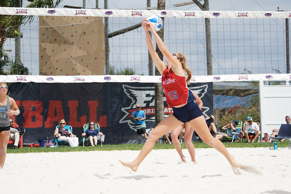 2016 FAU Beach Volleyball vs Tulane