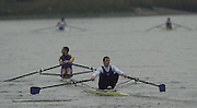 Photo Peter Spurrier.30/11/2002.2002 Tideway Scullers Head of the River Race. Peter Wells [Mandatory Credit: Peter Spurrier: Intersport Images]