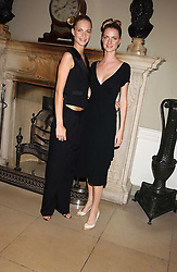 Sisters POPPY DELEVINGNE and CHLOE DELEVINGNEat the Bruce Oldfield Crimestoppers Party held at Spencer House, 27 St.James's Place, London SW1 on 22nd September 2005.<br />