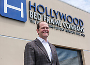 Jason Harrow, the president of Hollywood Bed Frame Company