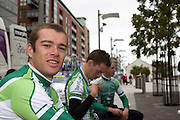 Paul Healion, Irish National Cycling Team, Tour of Ireland Stage 1, Grand Canal Square, Dublin 2