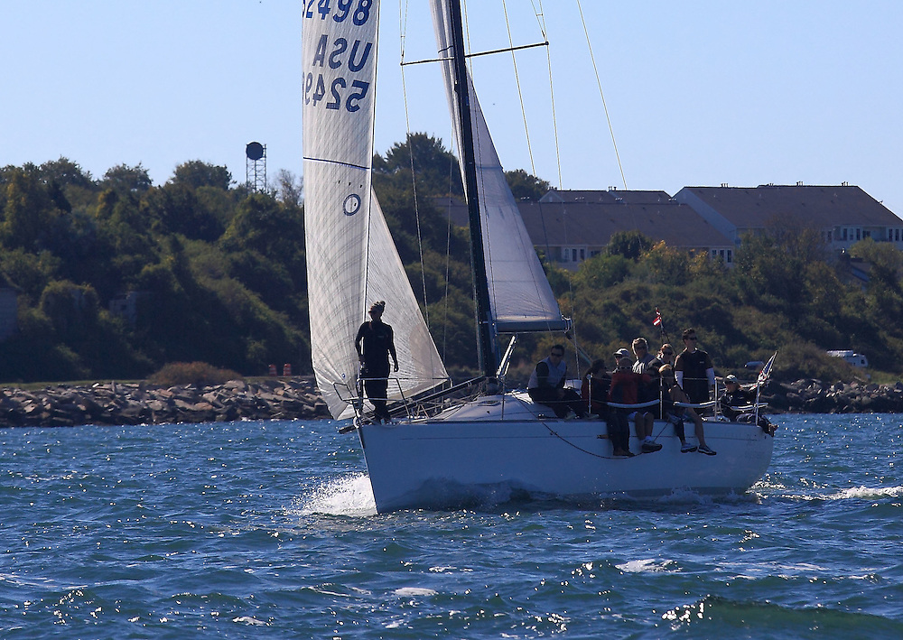 Slipstream practices at the 9th Annual Sail for Hope event in Newport, RI.