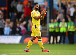 Alex Jakubiak of Bristol Rovers claps the traveling fans. - Mandatory by-line: Alex James/JMP - 15/09/2018 - FOOTBALL - Kenilworth Road - Luton, England - Luton Town v Bristol Rovers - Sky Bet League One