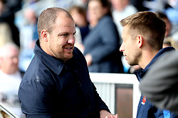 Former Hartlepool United Player and Coach Sam Collins in attendance at his old side's vital fixture against Doncaster Rovers - Mandatory by-line: Robbie Stephenson/JMP - 06/05/2017 - FOOTBALL - The Northern Gas and Power Stadium (Victoria Park) - Hartlepool, England - Hartlepool United v Doncaster Rovers - Sky Bet League Two