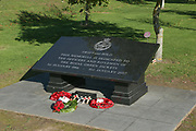 Royal Green Jackets Memorial at the National Memorial Arboretum, Croxall Road, Alrewas, Burton-On-Trent,  Staffordshire, on 29 October 2018. Picture by Mick Haynes.