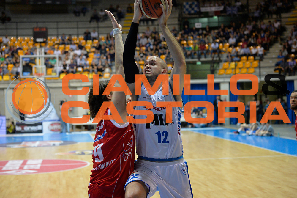 Calathes Patrick<br /> Red October Cantu' vs The Flexx Pistoia<br /> Lega A  2016/2017<br /> Desio 15/04/2017<br /> Foto Ciamillo-Castoria<br /> Provvisorio