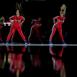 Nov 26, 2018; New Orleans, LA, USA; New Orleans Pelicans dance team during the first quarter against the Boston Celtics at the Smoothie King Center. Mandatory Credit: Derick E. Hingle-USA TODAY Sports