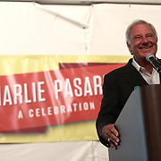 March 13, 2014, Indian Wells, California: <br /> Charlie Pasarell is presented with a ring signifying his induction into the International Tennis Hall Of Fame during a dinner and reception.<br /> (Photo by Billie Weiss/BNP Paribas Open)
