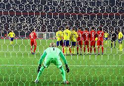 November 17, 2018 - Konya, Türkiye - Turkey vs. Sweden UEFA Nations League, League B game at Konya, Turkey, 17th Nov., 2018 (Credit Image: © Mahmut Burak Burkuk/Depo Photos via ZUMA Wire)