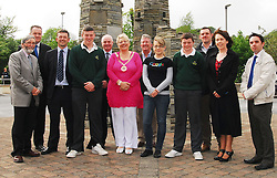 Students from St Patrick's College Lacken Cross won 5th prize in Westport's Town Council's Town of Tomorrow competition. Pictured at the presentation Joe Beirne (Director of Services Westport Town Council) Cllr Myles Staunton, Jimmy Killeen(Teacher) Darragh Gilroy, Peter Hynes (Mayo County Manager ) Cllr Teresa McGuire, Brendan Hafferty, Nicole Drobeck (Google), Padraig Gallagher, Jimmy Kissane (teacher)  Anne Moore Westport Town Council and Michael Duffy (Mayo News) at the presentation of the Town of Tomorrow awards. Pic Conor McKeown.