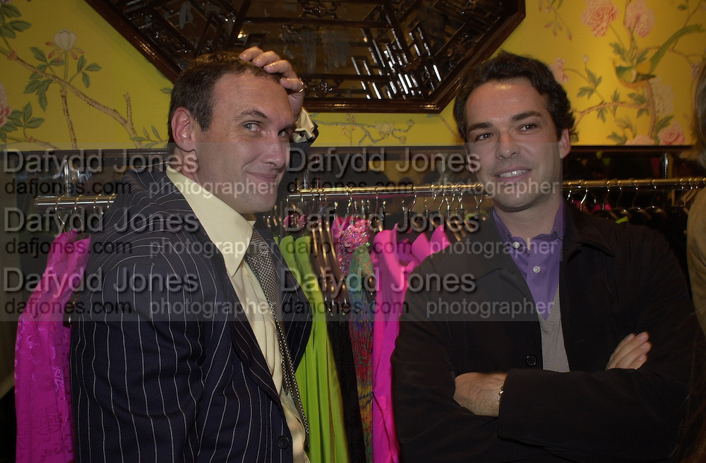 A.A. Gill and Henry Dent-Brocklehurst. <br />
