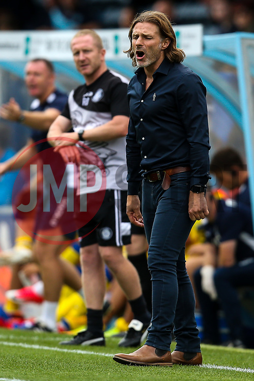 Wycombe Wanderers manager Gareth Ainsworth - Mandatory by-line: Robbie Stephenson/JMP - 18/08/2018 - FOOTBALL - Adam's Park - High Wycombe, England - Wycombe Wanderers v Bristol Rovers - Sky Bet League One