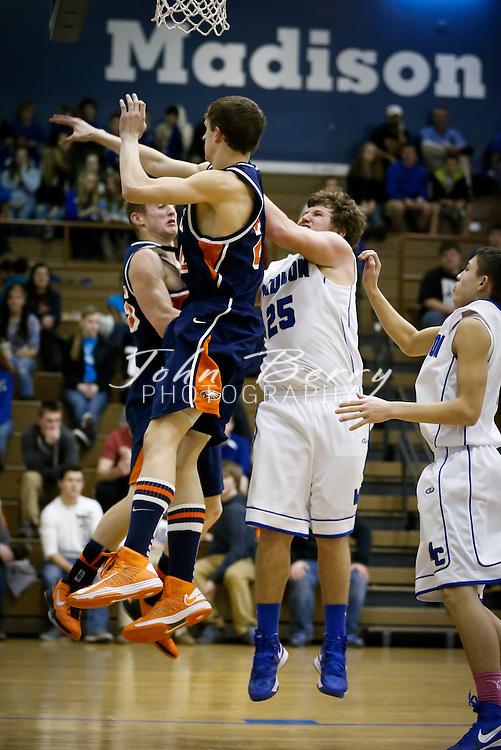 February/5/13:  MCHS Varsity Boys Basketball vs Clarke Eagles.  Madison loses to Clarke 69-59.