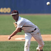 Caravel Academy Pitcher Bryce Carney (13) throws a strike during a DIAA baseball semifinal game between Caravel Academy and Middletown at Frawley Stadium Saturday May 28, 2016 in Wilmington.